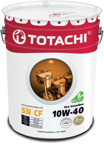 TOTACHI Eco Gasoline 10W-40 (new)
